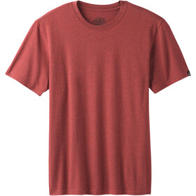 Prana Crew T-shirt Homme, rusted roof heather